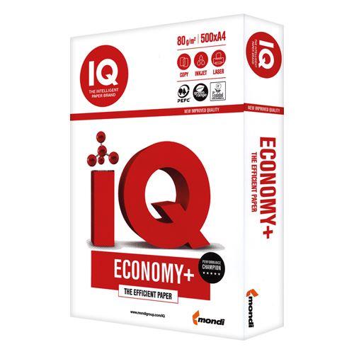 Xerografický papír A4 80g IQ Economy + Xerografický kancelářský papír A4 80g IQ Economy +