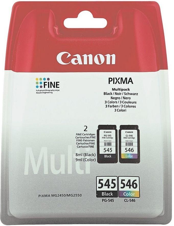 Canon PG-545 + CL-546 - originální (Multipack Černá/Barevná)