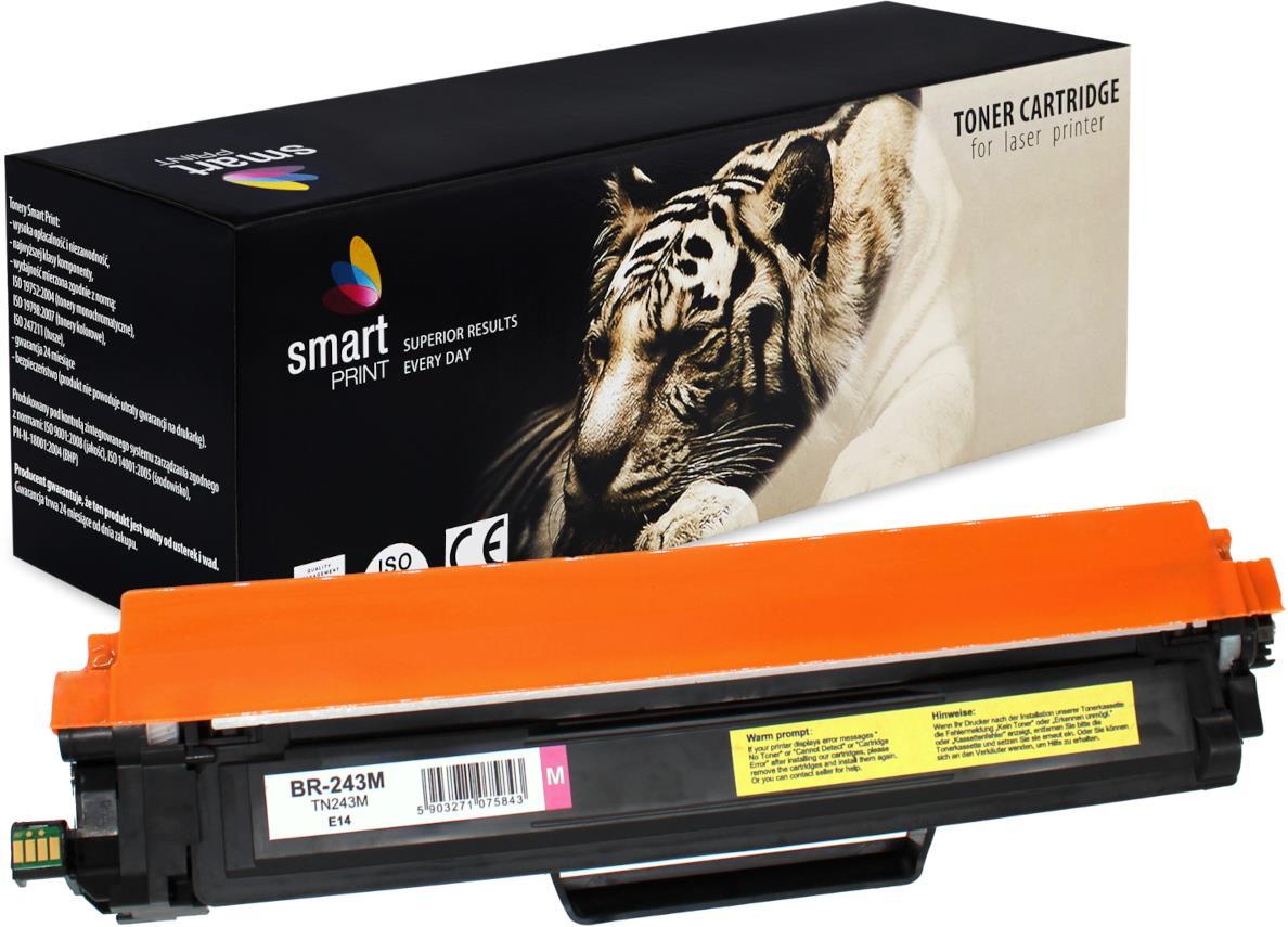 Brother TN-243 - kompatibilní purpurový toner s NOVÝM ČIPEM, 1000 stran