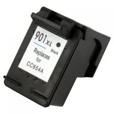 901 XL CC654AE#301 kompatibilní inkoustová kazeta, barva náplně černá, 950 stran