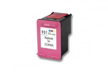 901 xl CC656AE#301 kompatibilní inkoustová kazeta, barva náplně tříbarevná, 760 stran