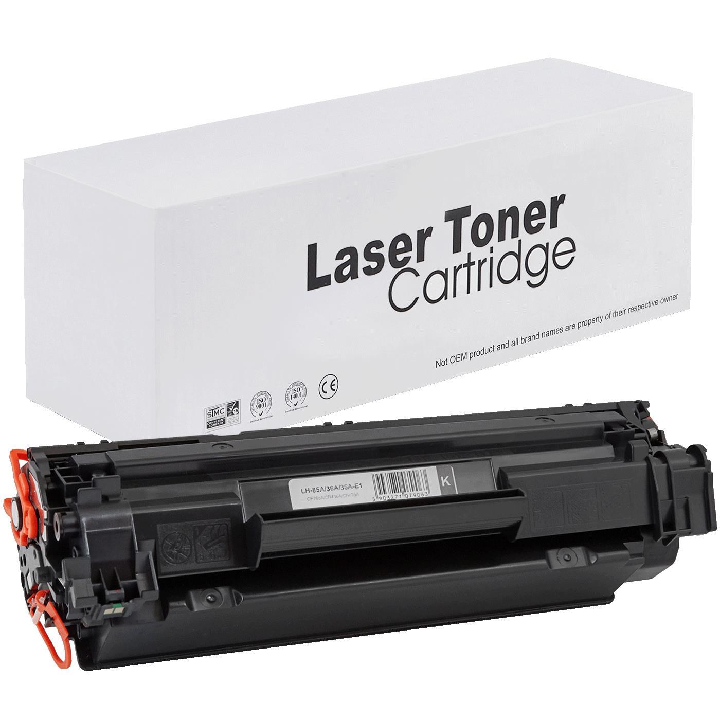 Kompatibilní toner HP CE285A 1600 stran Kompatibilní toner HP CE285A 1600 stran pro tiskárny HP