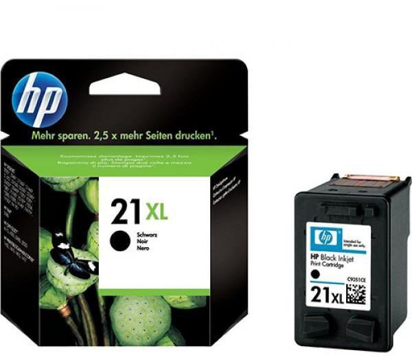 Originální inkoustová kazeta HP 21xl (C9351CE) černá (black) 475 stran Originální inkoustová kazeta
