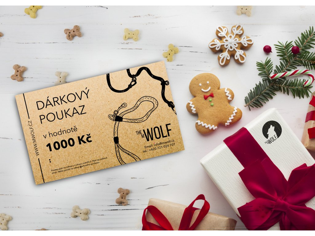 dárkový poukaz mwolf