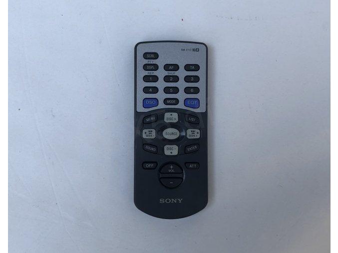 Dálkové ovládání radia Sony