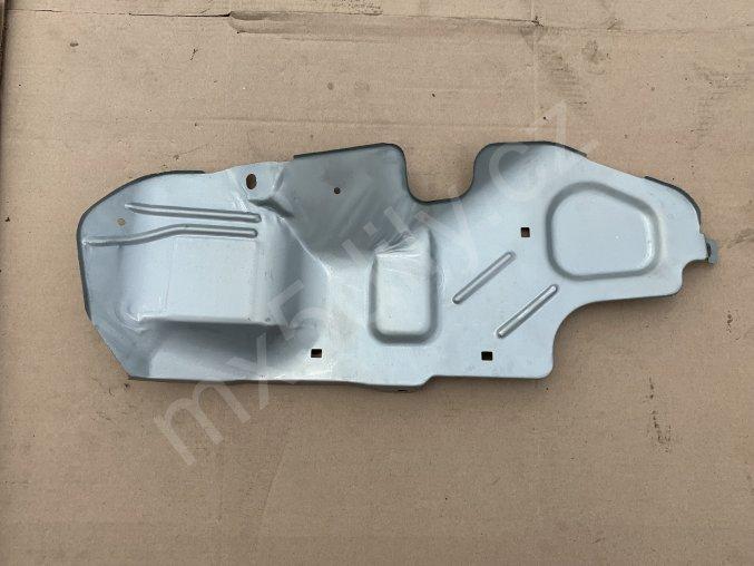 Kryt palivových hadic v kufru NB - stříbrný