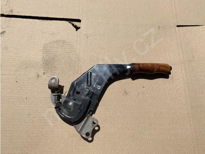 Ruční brzda - dřevěná 3