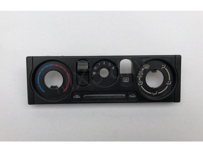 Kryt ovládání topeni NB - černý