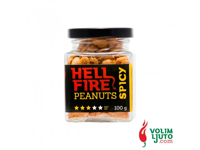 Hellfire Peanuts Spicy 6