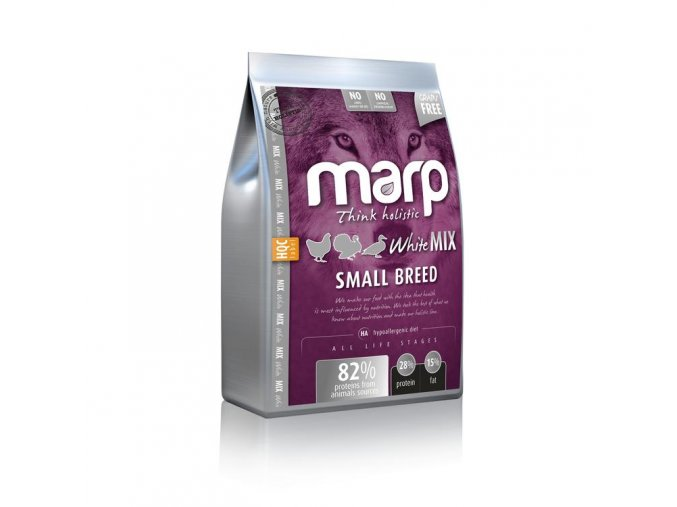 MARP HOLISTIC - WHITE MIX SMALL BREED GRAIN FREE (12KG)