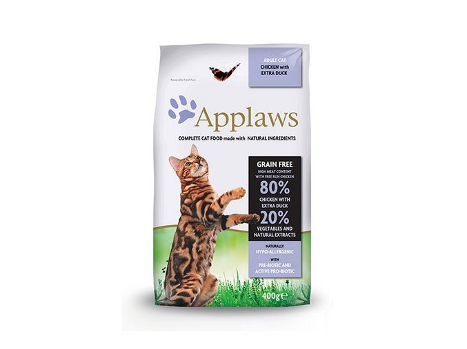 applaws cat adult chicken duck pro dospele a starsi kocky