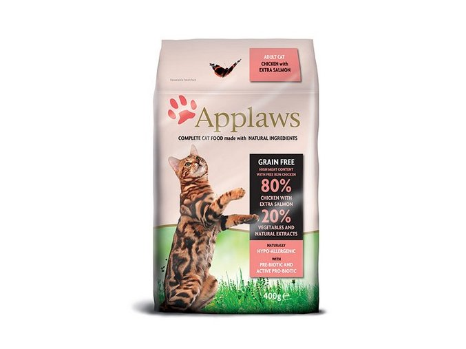 applaws cat adult chicken salmon pro dospele a starsi kocky