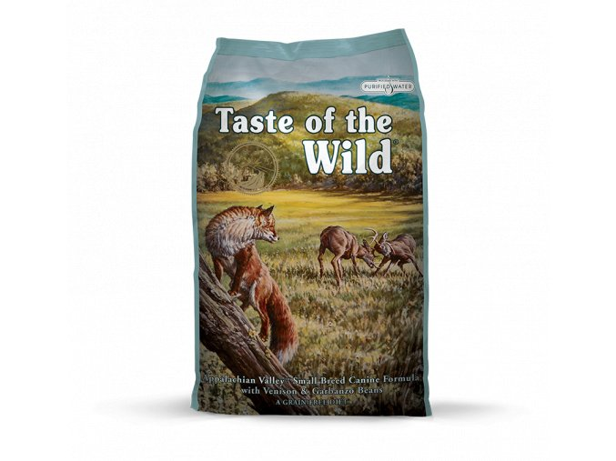 taste of the wild appalachian valley small breed pro dospele psy mensich plemen s prichuti zveriny