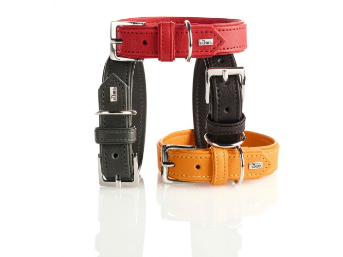 hunter hundehalsband wallgau leder 1475142173