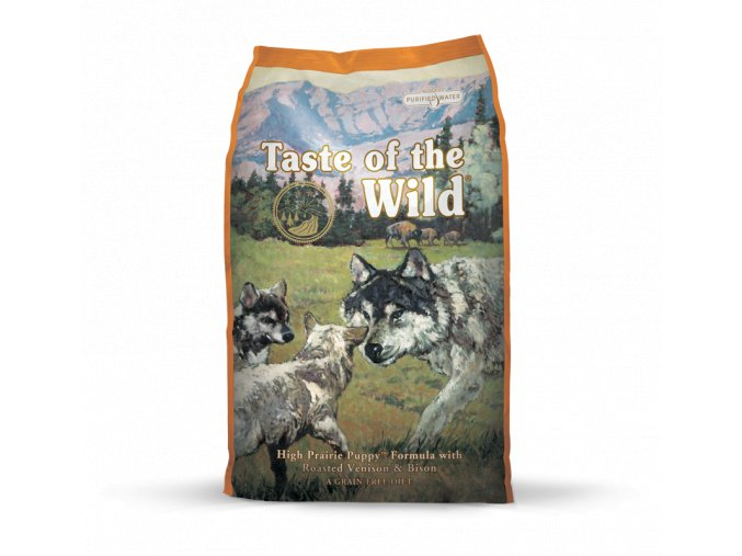 taste of the wild high prairie puppy pro stenata