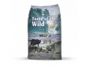 taste of the wild sierra mountain canine pro dospele psy s prichuti jehneciho