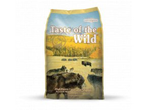 taste of the wild high prairie canine pro dospeleho psa s prichuti peceneho bizona