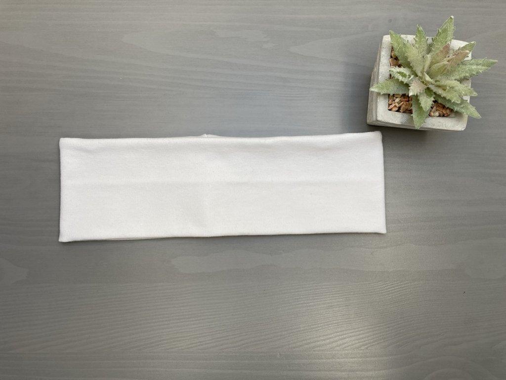 Čelenka WHITE