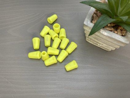 Koncovka - Neon žlutá