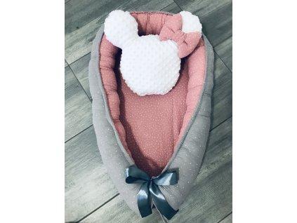 Hnízdečko pro miminko ze 100% bavlny ( na zakázku)