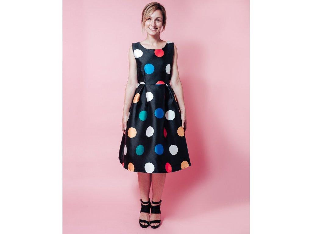 Šaty colorful dot