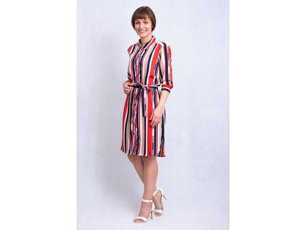 Šaty Frhastripe dress Fransa