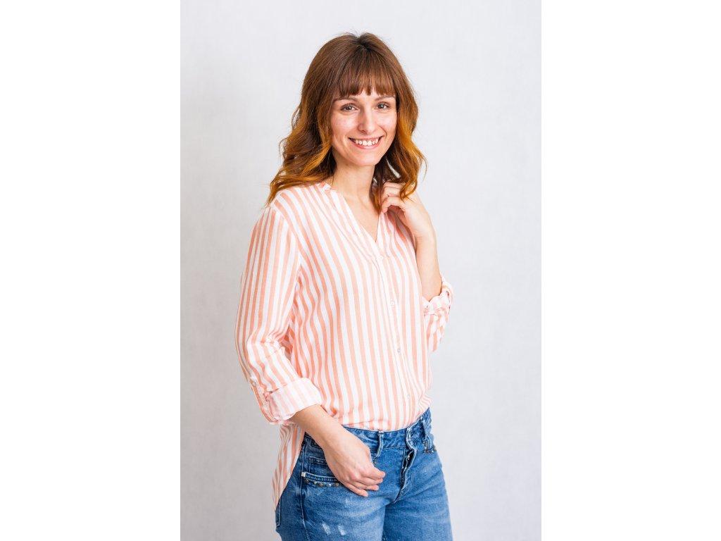 Košile Byfabianne stripe shirt b. young