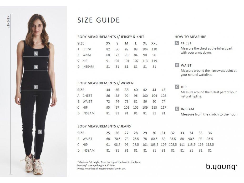 Šaty Byisole Dress b.young