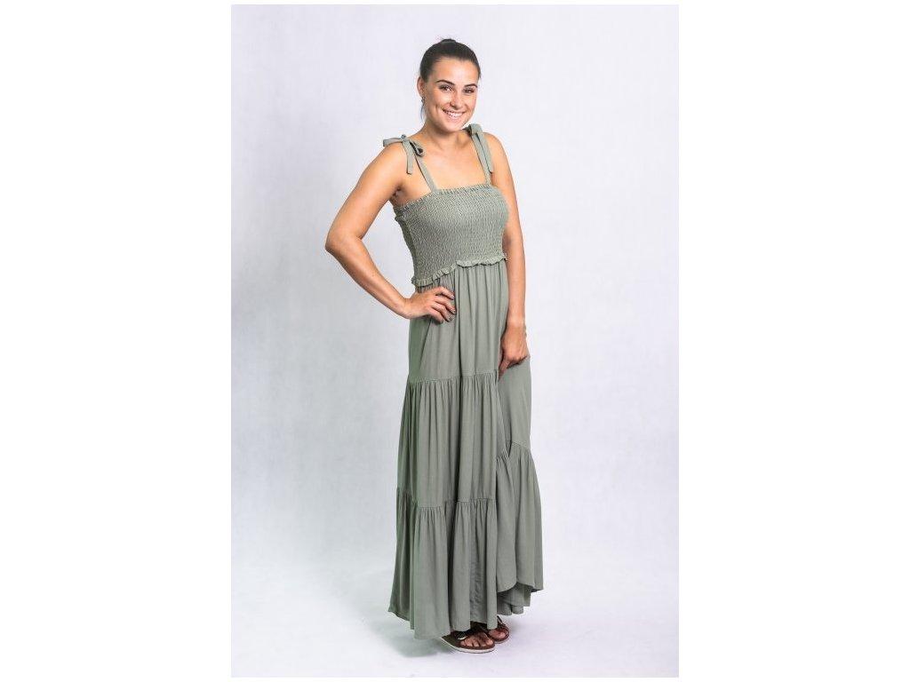 Šaty Byhenka dress green b.young