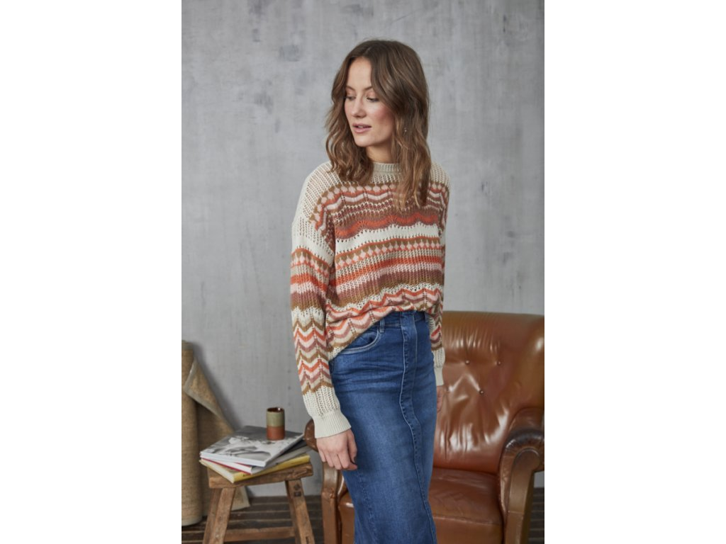 Frbecolorfull Pullover Fransa