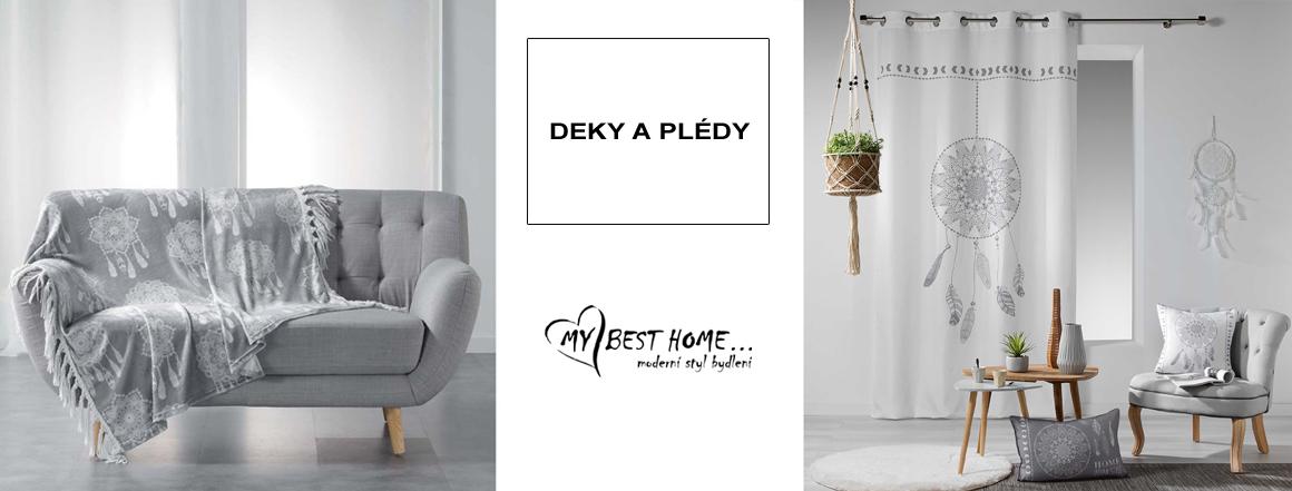 Deky a plédy MyBestHome.cz