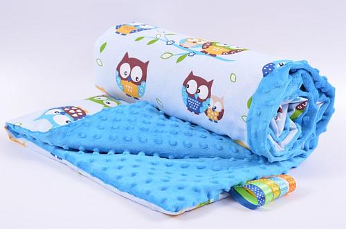 Dětské mikrovláknové deky MINKY