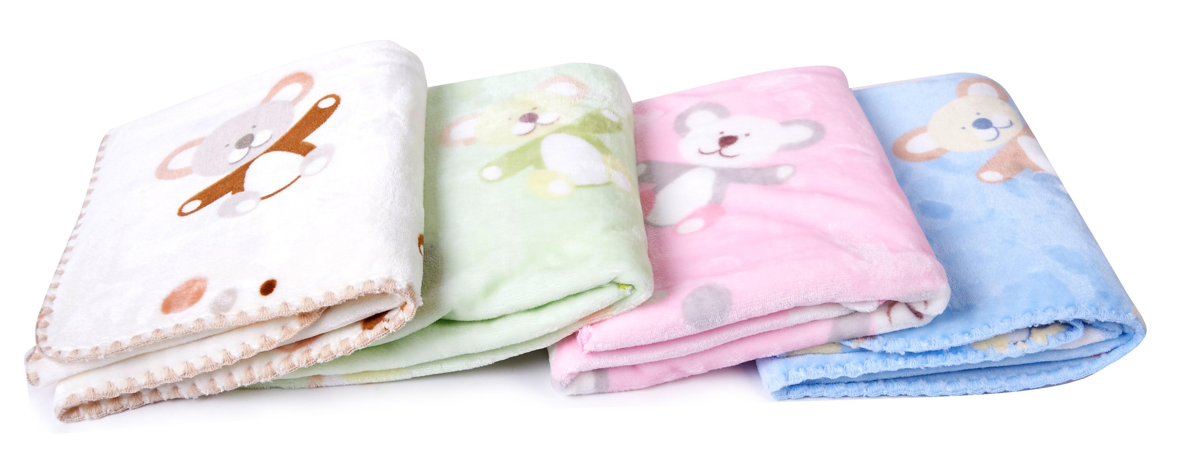 Dětské mikrovláknové deky