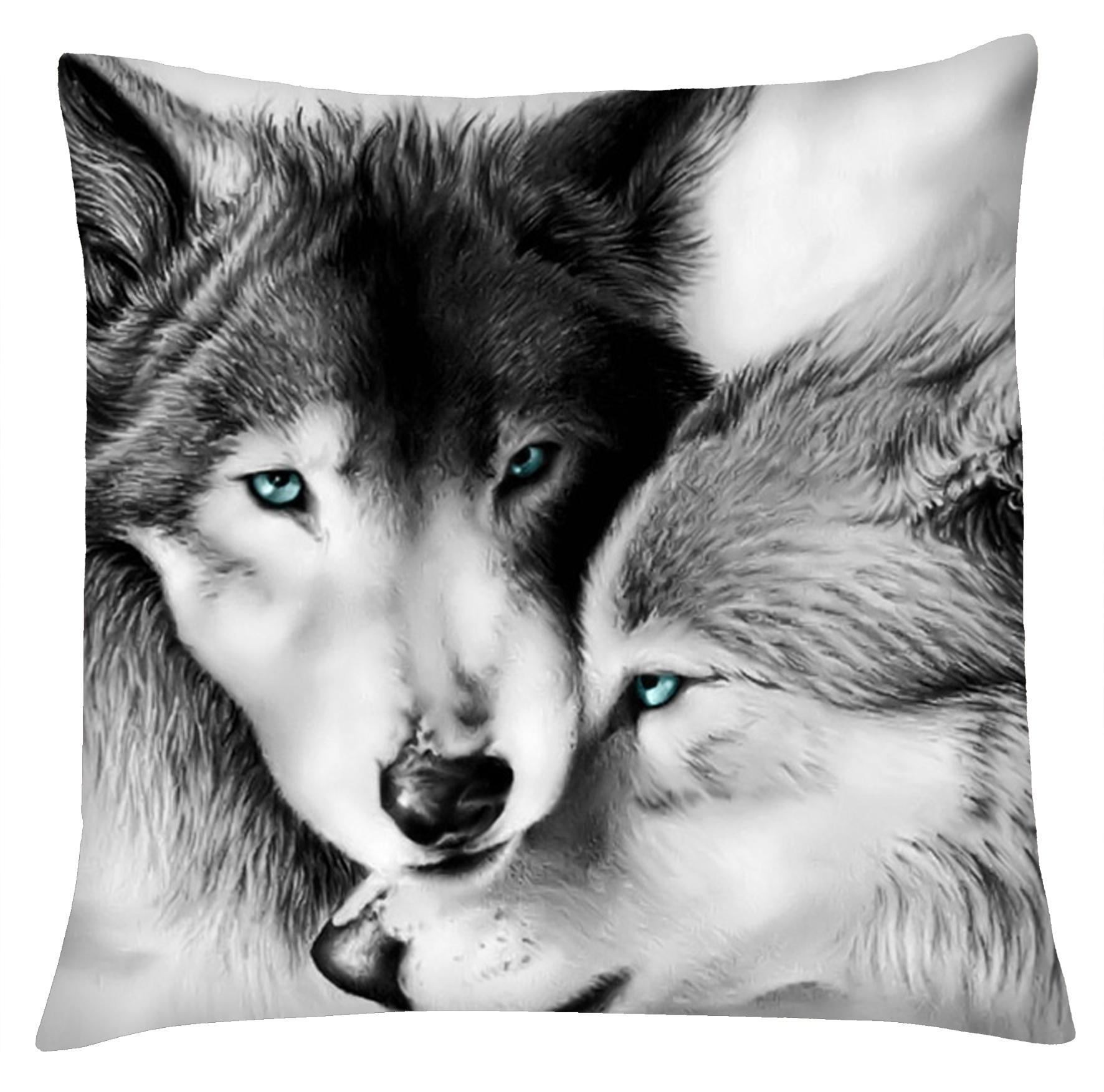 Polštáře Vlci