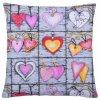Bavlněný polštář COLORS HEARTS 40x40 cm, Mybesthome