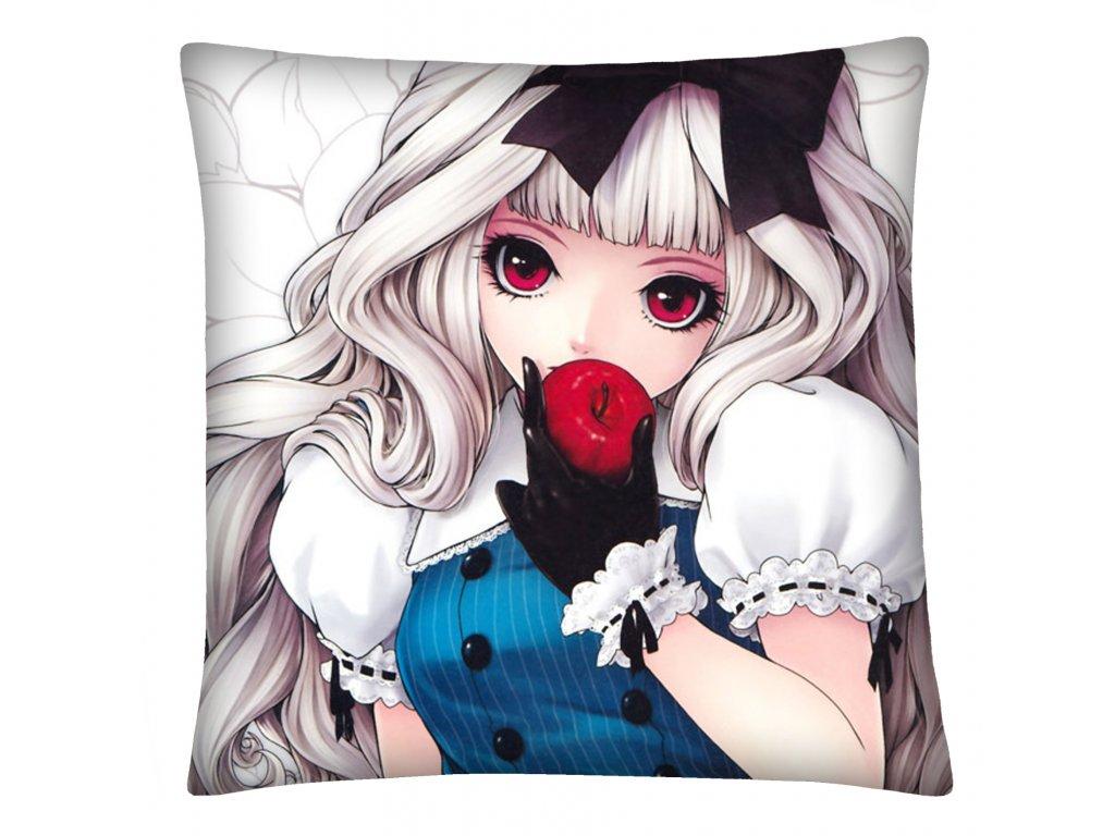 Polštář Svět anime manga 16 Mybesthome 40x40 cm
