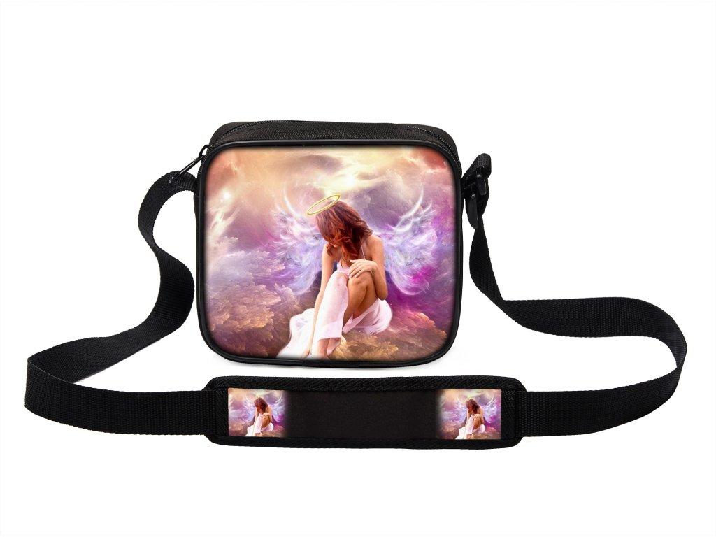 Taška přes rameno MINI andělé 11 MyBestHome 19x17x6 cm