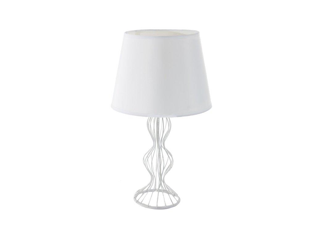 Stolní lampa BRIANA 20x20x44 cm bílá Mybesthome