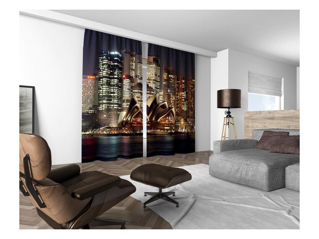 3D dekorační závěs 316V SYDNEY 160x250 cm set 2 kusy MyBestHome