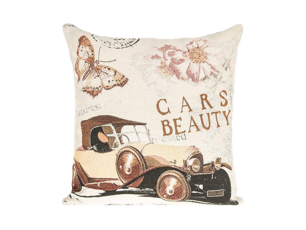935c438206 Luxusní povlak na polštář z gobelínové látky s originálním tkaným ...