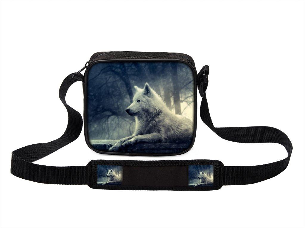 Taška přes rameno MINI s vlkem 13 MyBestHome 19x17x6 cm