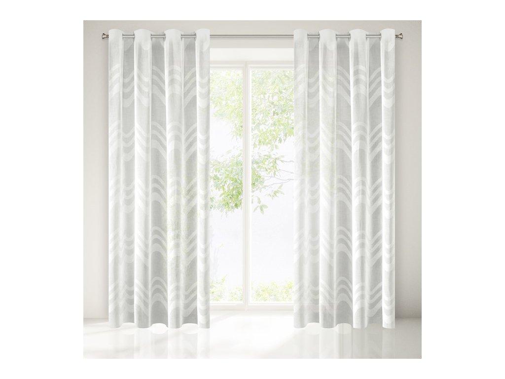 Dekorační záclona ANATOLA krémová 140x250 cm MyBestHome