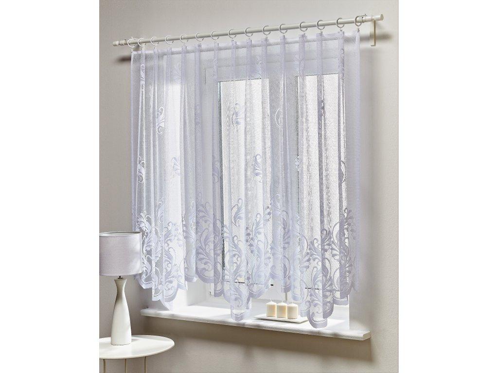 Dekorační oblouková žakárová záclona ZIUTA 300x150 cm MyBestHome
