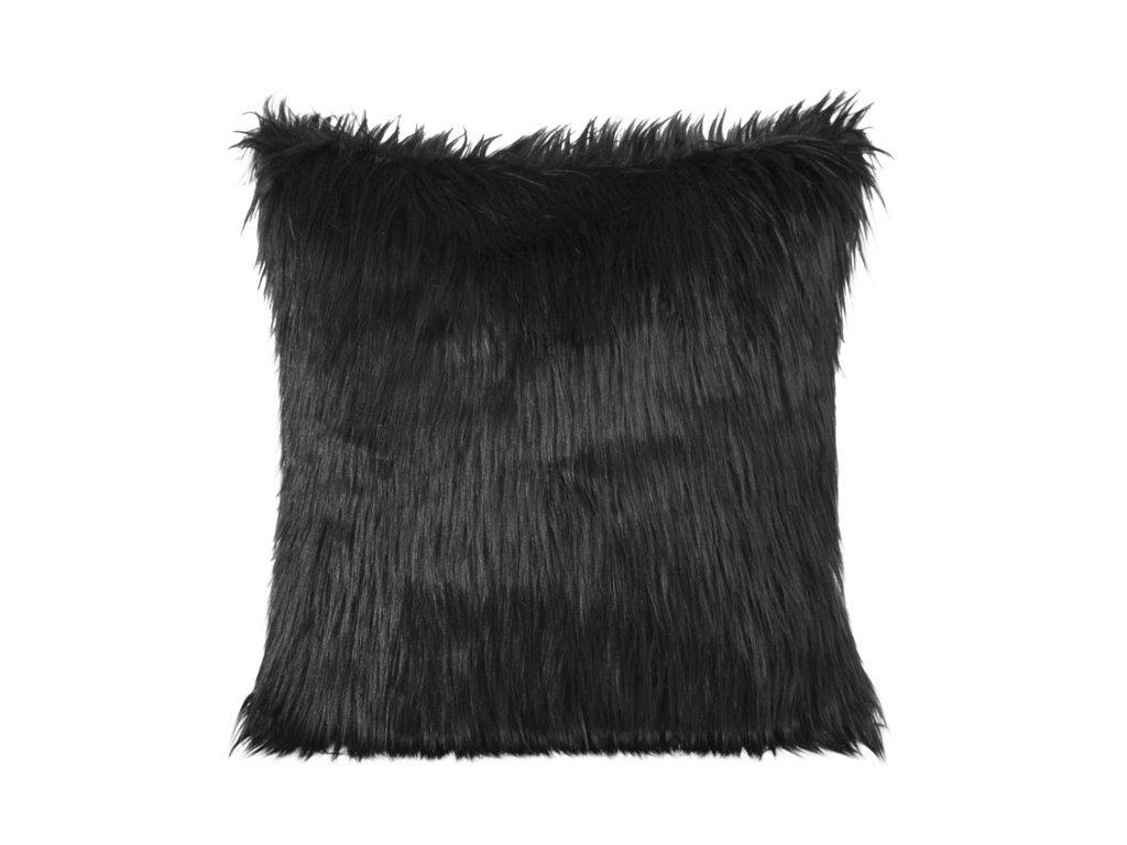 Polštář MONIQUE 45x45cm černá MyBestHome