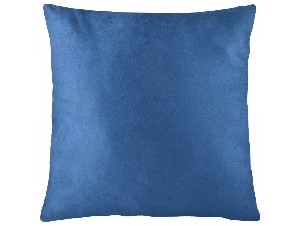 Polštář VICTOR modrá 45x45 cm Mybesthome