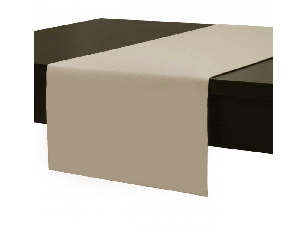 Ubrus - běhoun na stůl SIMPLE COLORS 45x90 cm, béžová, ESSEX