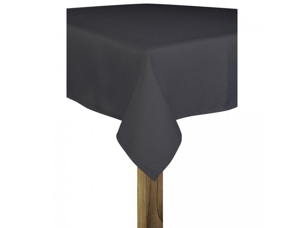 Ubrus MARCELLO 110x160 cm tmavě šedá, ESSEX
