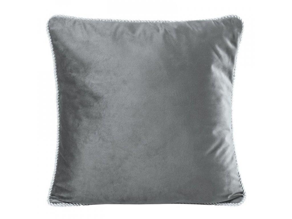 Polštář FANDANGO šedá 45x45 cm Mybesthome