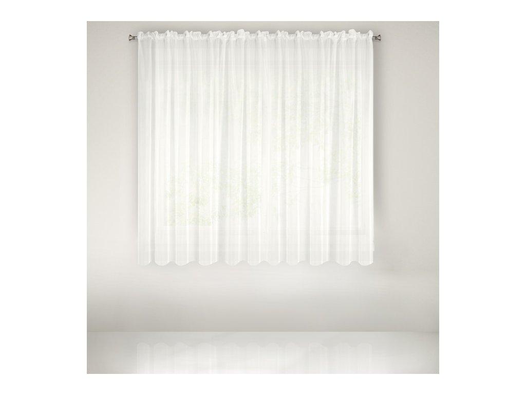 Dekorační krátká záclona KARA krémová 300x160 cm MyBestHome