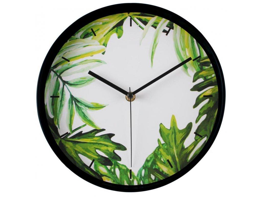 Nástěnné hodiny GREENERY Ø 25 cm Mybesthome